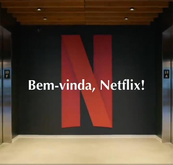 Bem-vinda Netflix